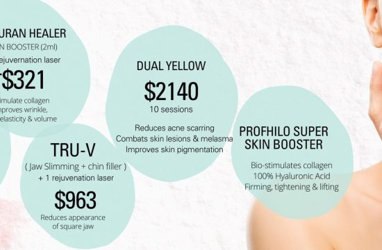 Aesthetic clinic near me monthly campaign prices-Sep 2021